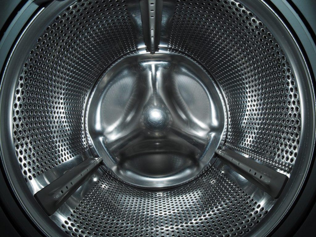 Leere Waschmaschinentrommel