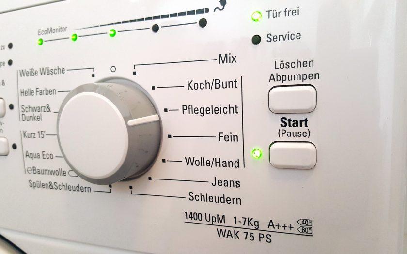 Waschmaschinen Steuerung